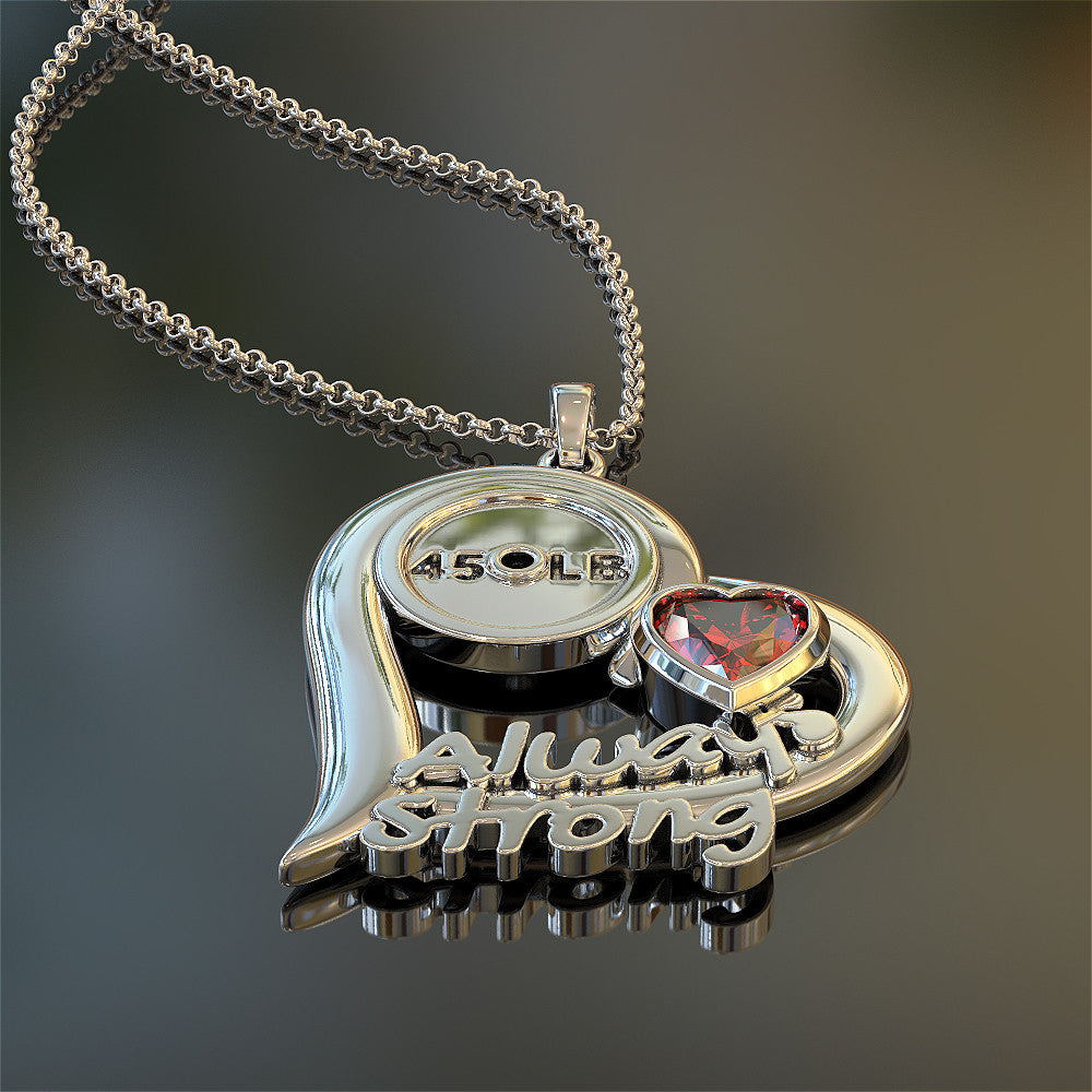 Always Strong Fitness Necklace