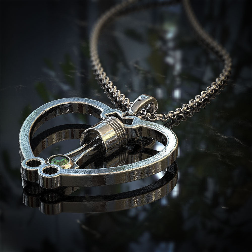 Piston Heart Pendant