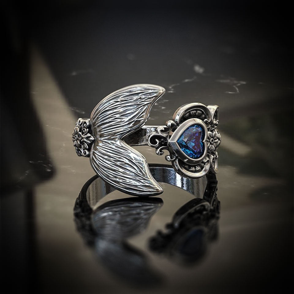 Personalised Birthstone - My Mermaid Ring