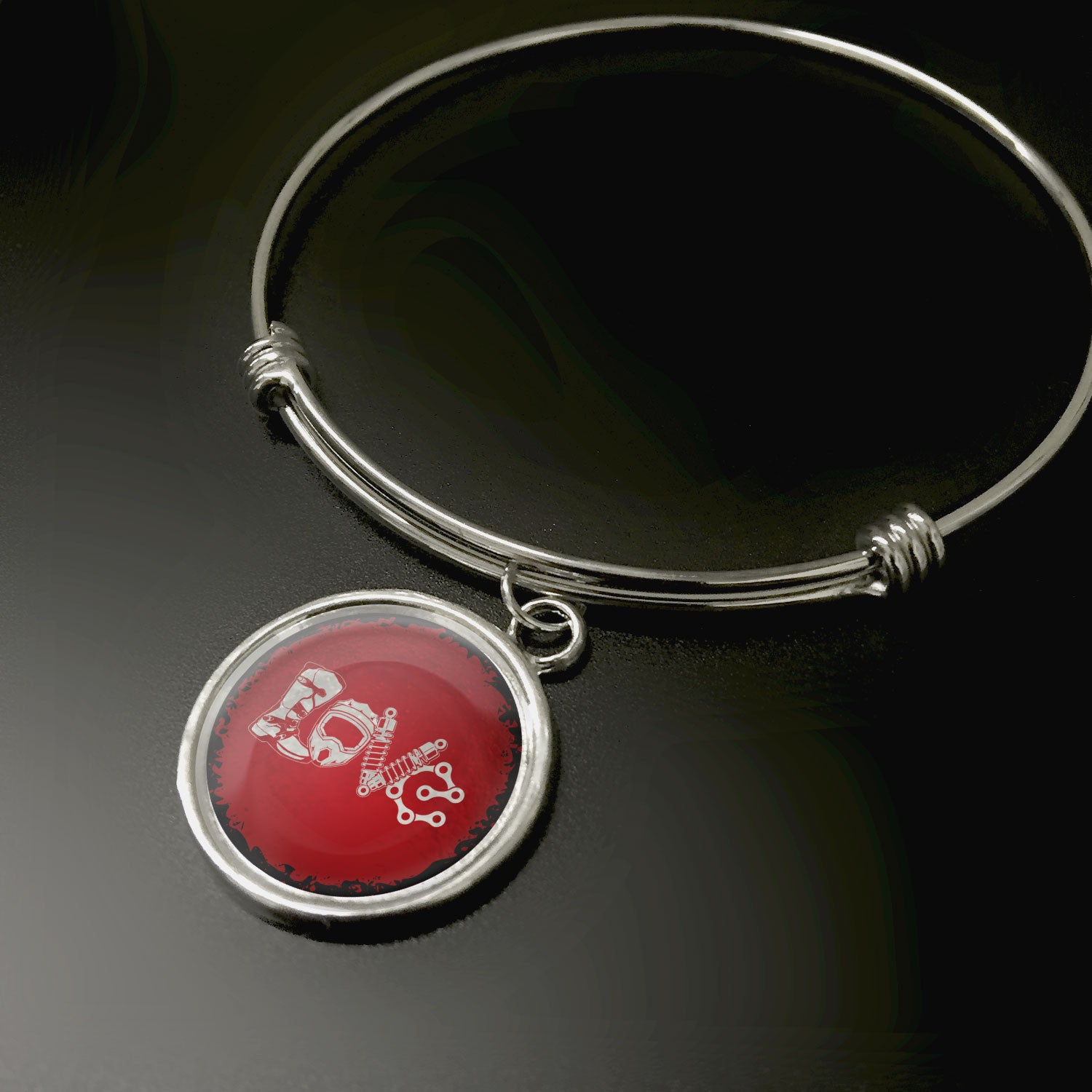 Motocross Love Pendant - STRICTLY LIMITED EDITION