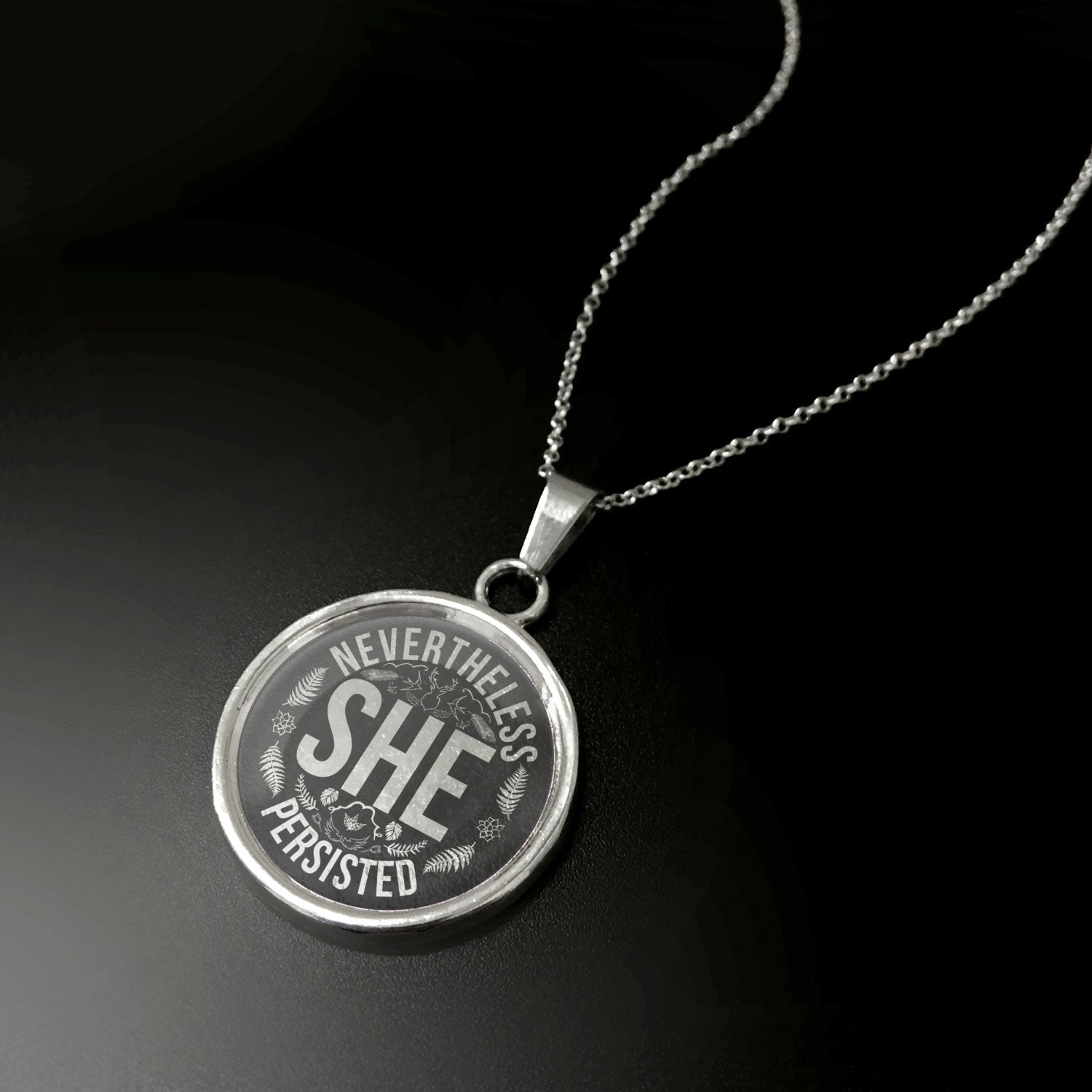She Persisted Pendant - STRICTLY LIMITED EDITION
