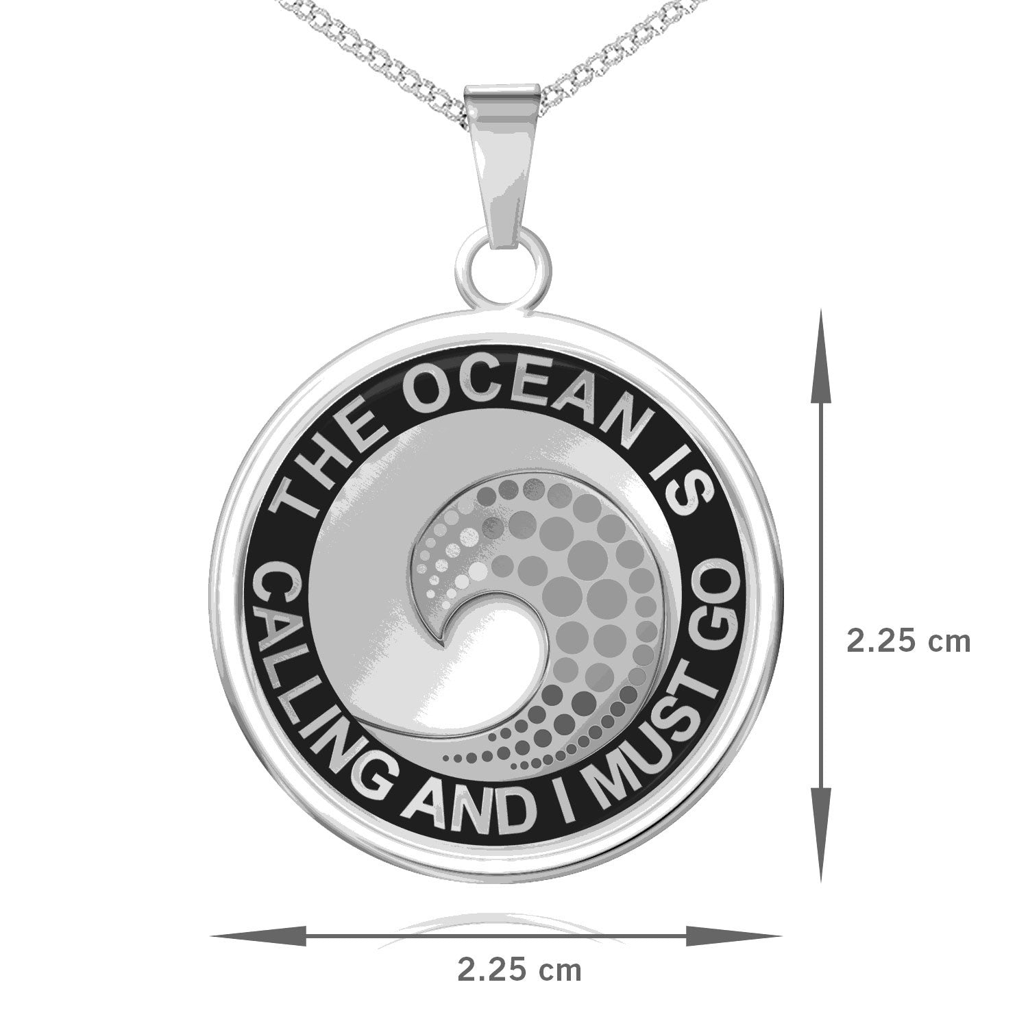The Ocean Is Calling Pendant