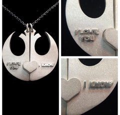 I Love You I Know - Necklace
