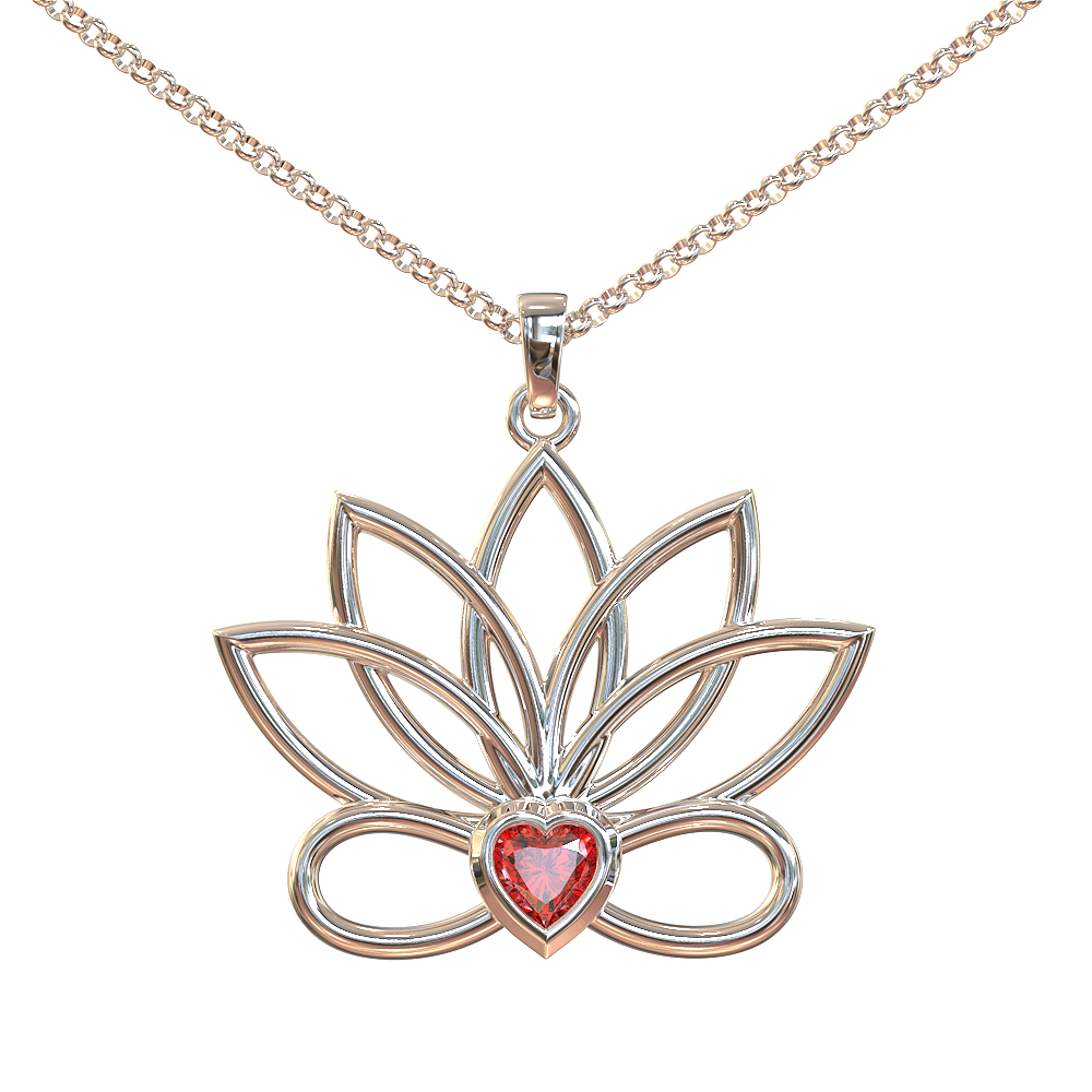Love Yoga Necklace