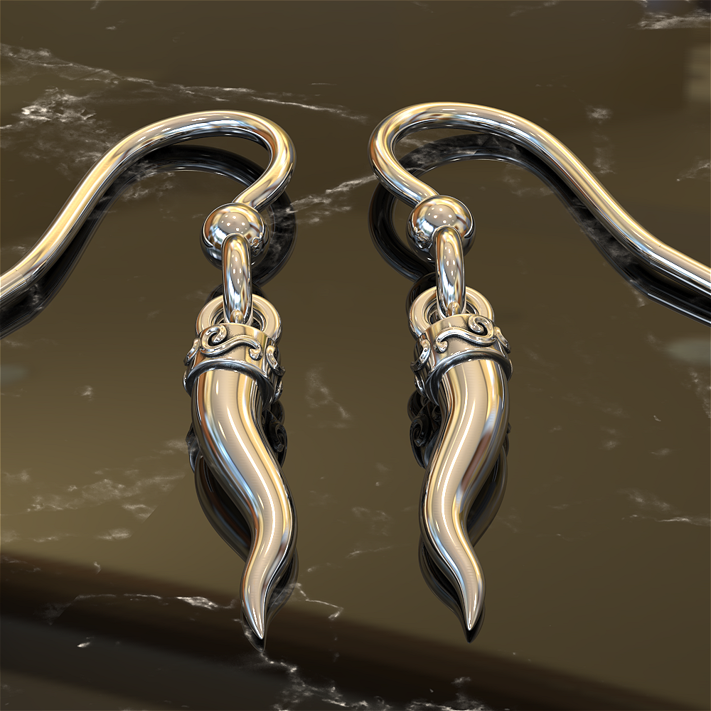 Italian Horn Earrings - Protect Against Malocchio!
