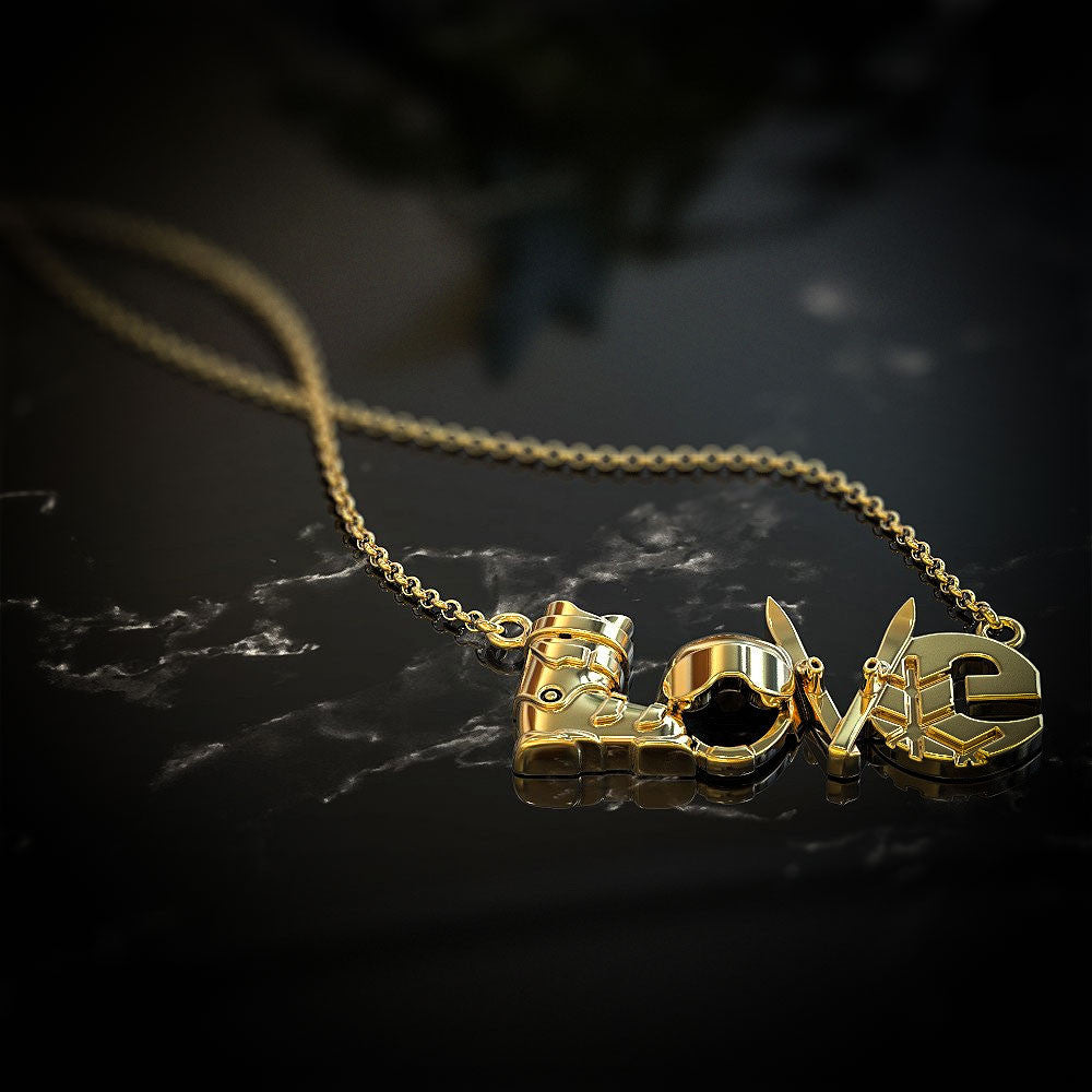 LOVE - Ski Pendant - STRICTLY LIMITED EDITION