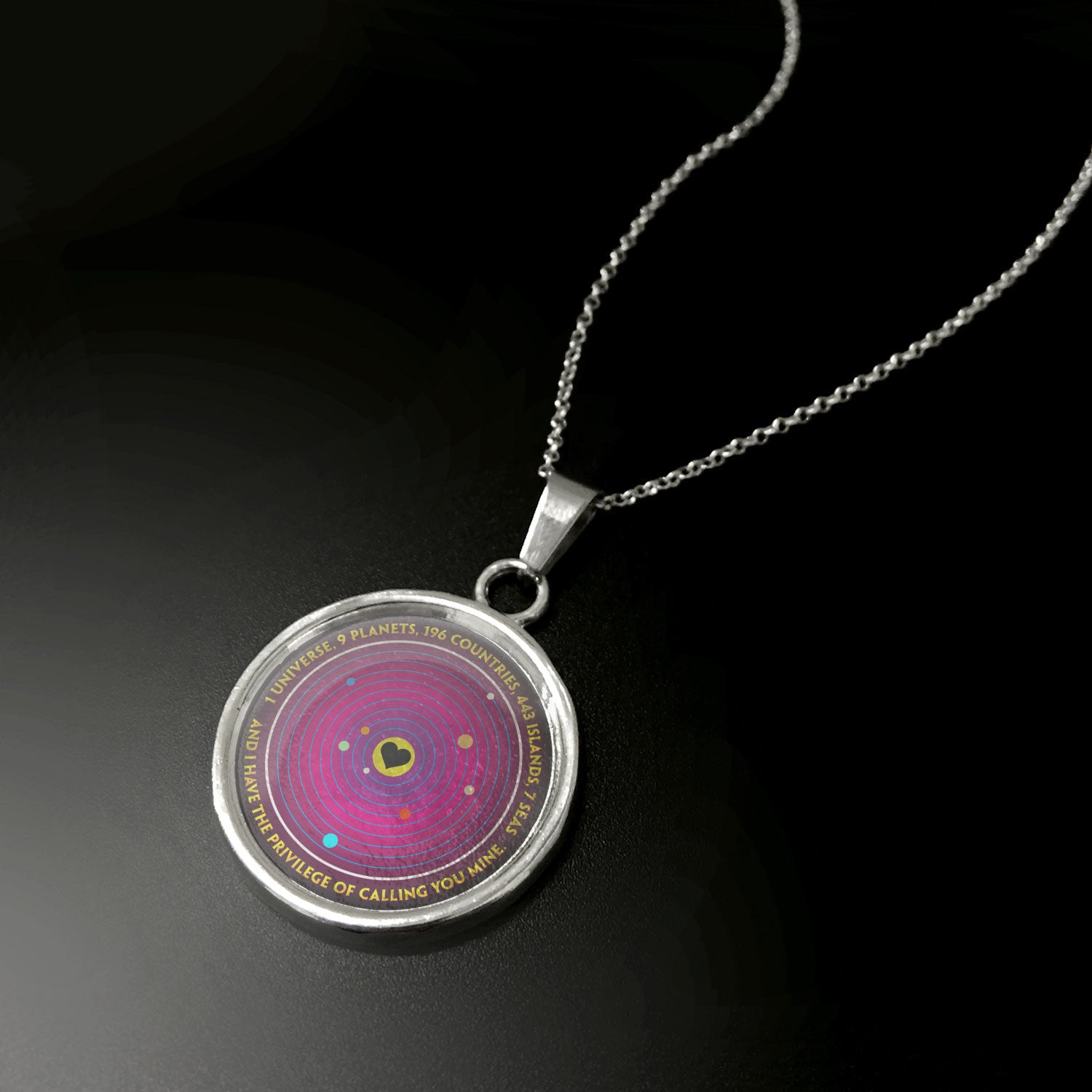 Universe Love Pendant - LIMITED EDITION