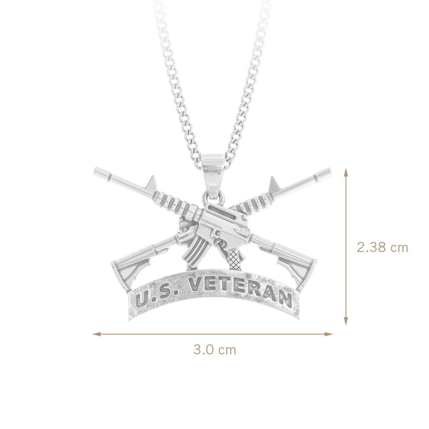 U.S. Veteran Necklace