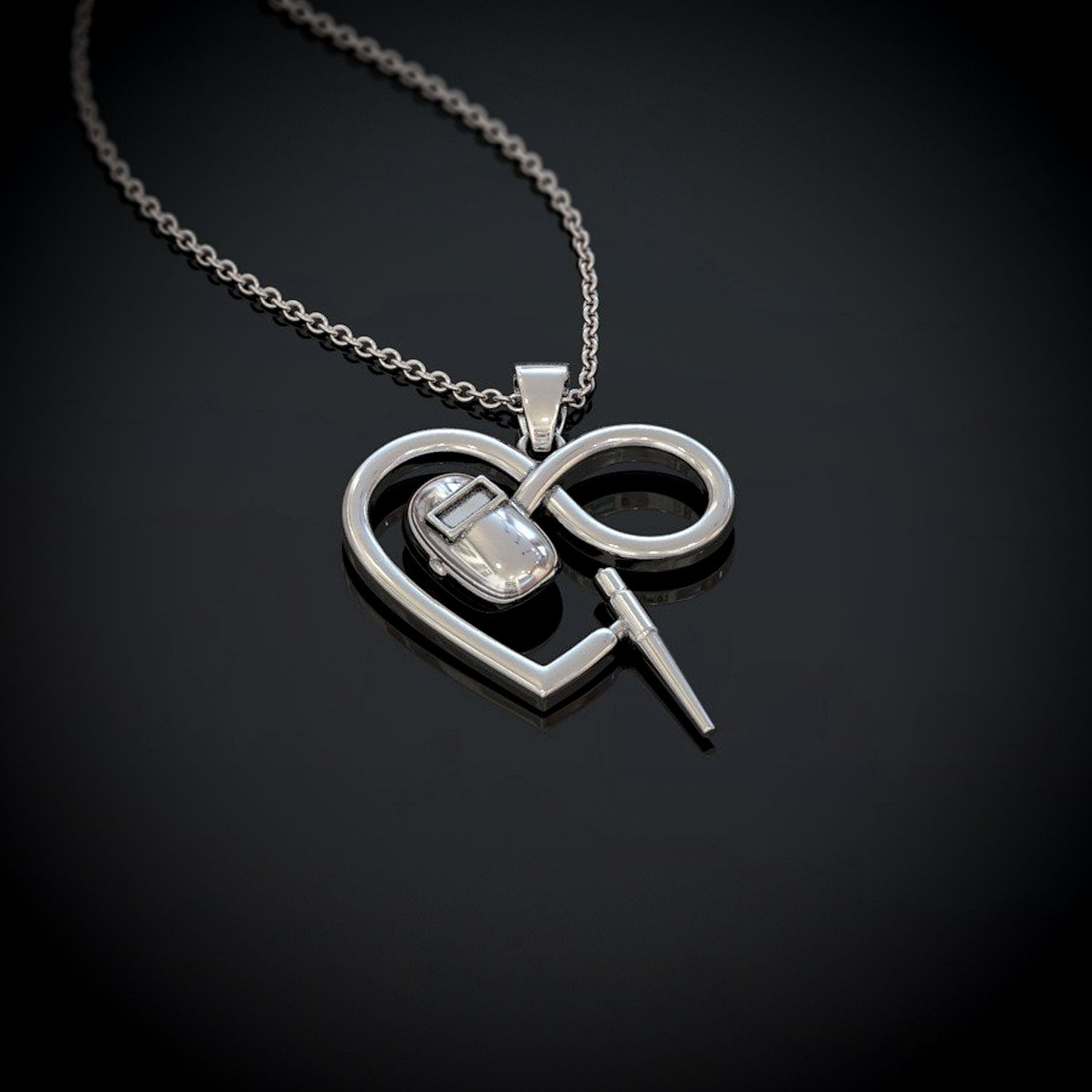 Welder Infinity Necklace
