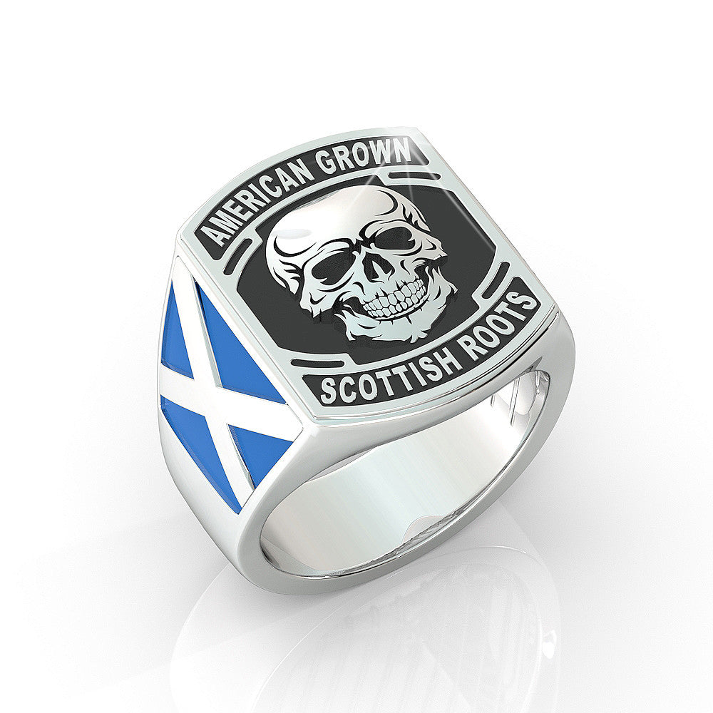 American Grown Scottish Roots Ring