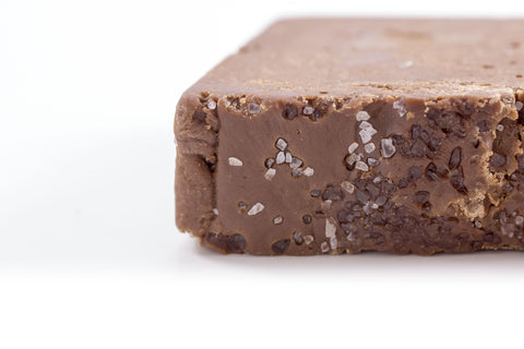 Chocolate Caramel Sea Salt Fudge