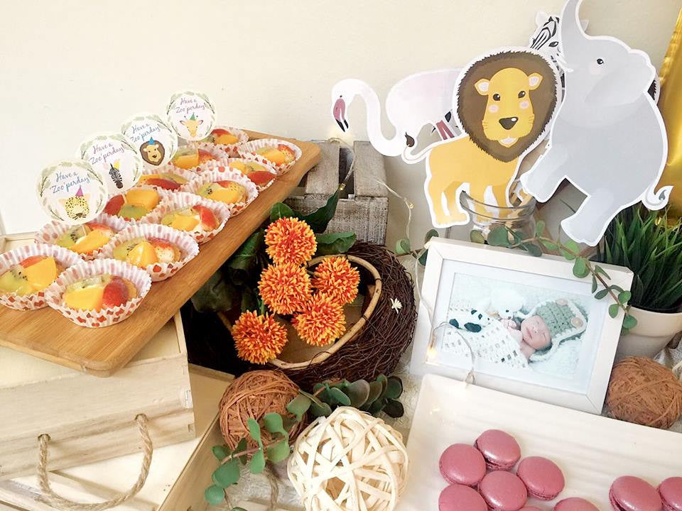 Customised Pastry Package - Safari Themed 1st Birthday Party