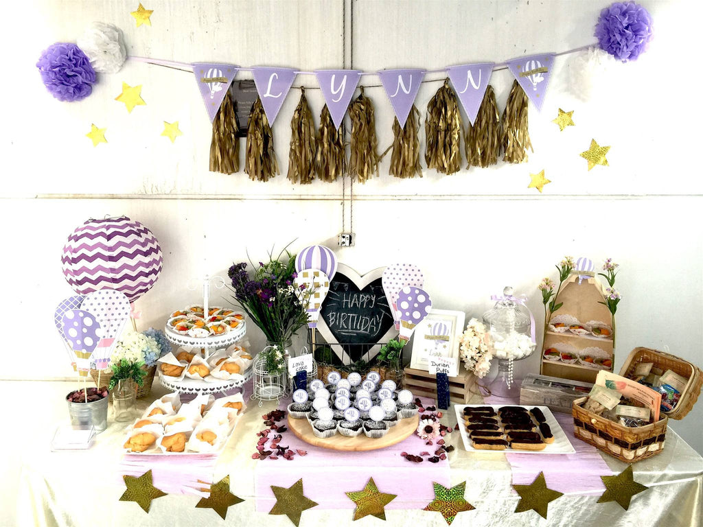Customise Pastry Package - Lavender Themed Birthday Party