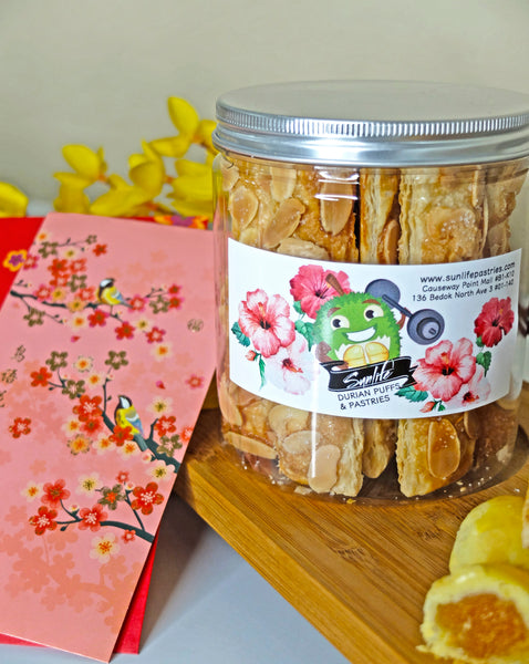 Almond Sticks Jar