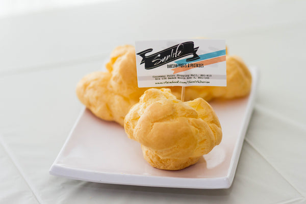 Large Durian Puff (Box of 5 pieces)