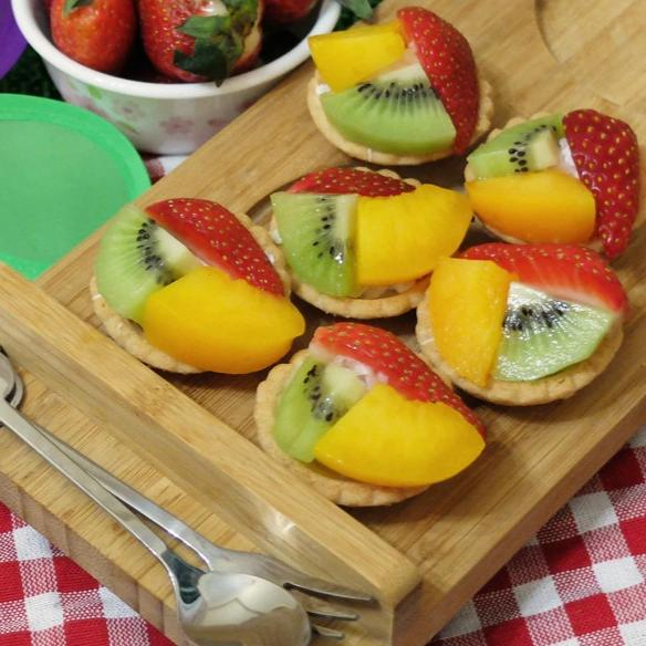 Mini Fruit Tarts (Box Of 6 Pieces)
