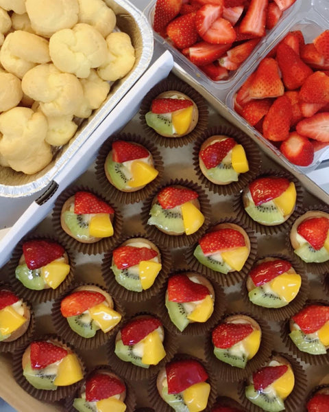 Mini Fruit Tarts (Party Tray of 30)