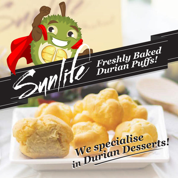 Mini Durian Puffs