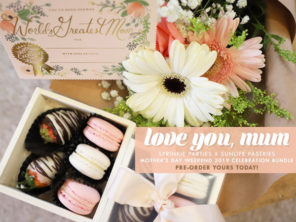 Love You, Mum (Mother's Day Blossoming Blush Bundle)