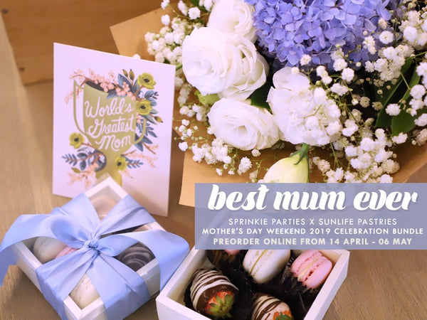 Best Mum Ever (Mother's Day Beautiful Blue Bundle)