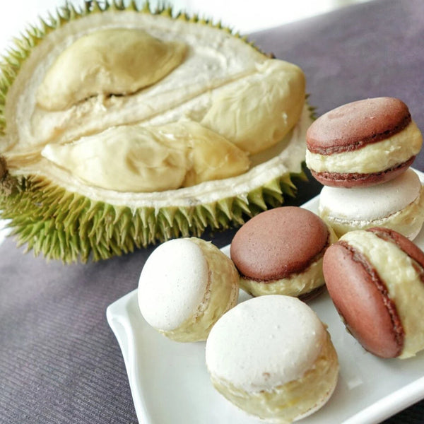 D24 Durian Macarons (Set of 6 pieces)