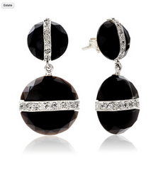 Gleem Onyx Earrings Featured in Serendipity Magazine Gift Guide