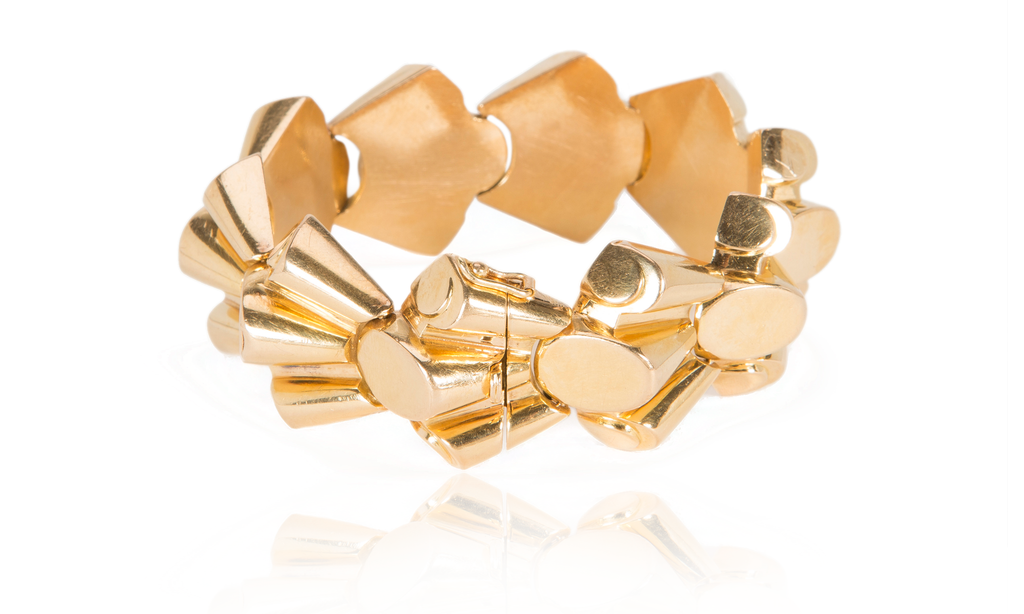 Retro French Gold Bracelet