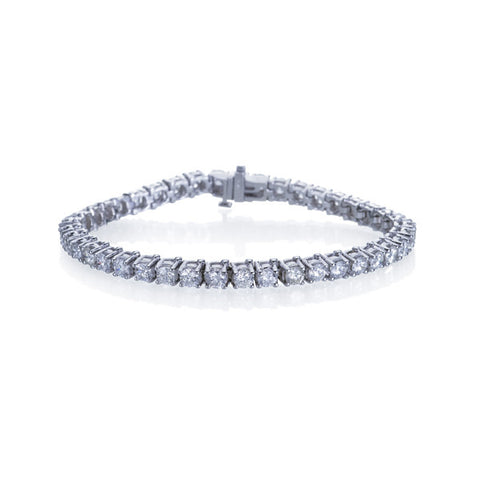 Estate Diamond Tennis Bracelet