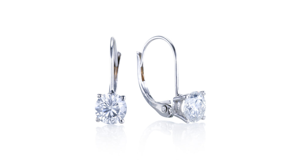 Eloquence Diamond Drop Earrings