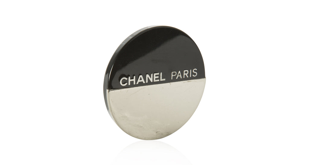 'Chanel Paris' Circle Pin, Circa Autumn 2000