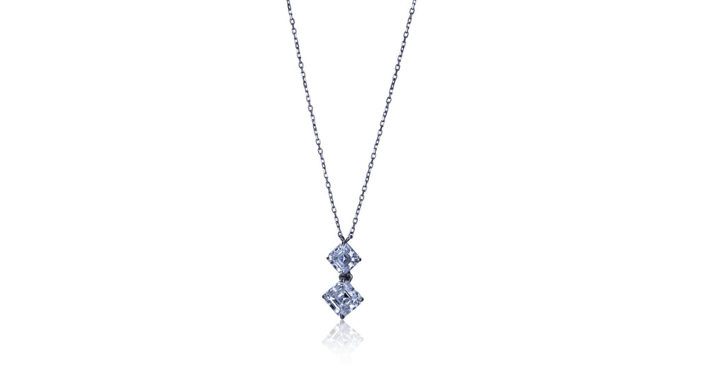Daniel K Diamond & Platinum Pendant Necklace