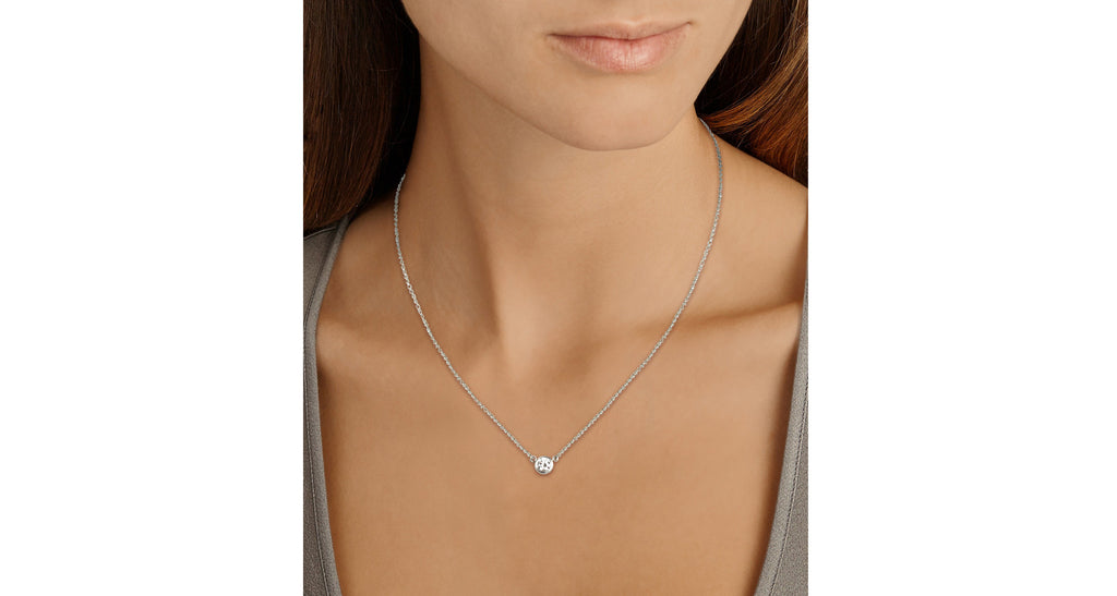 Elsa Peretti Platinum 'Diamonds-by-the-Yard' Necklace