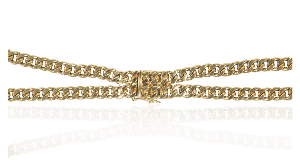 Italian 18K Gold Collar Necklace