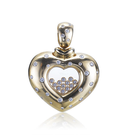 Chopard Large Heart Reversible Pendant