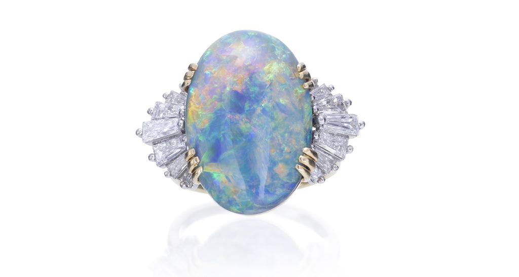 JE Caldwell Opal Ring