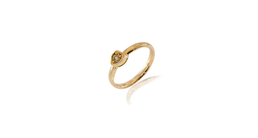 Mimi Rose Gold & Diamond Ring