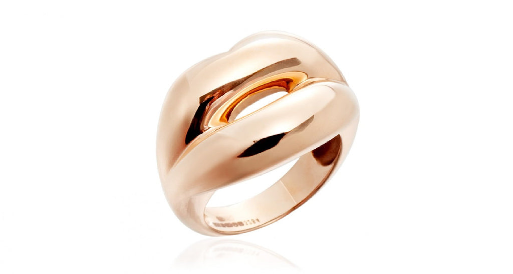 Hotlips Ring, Gold