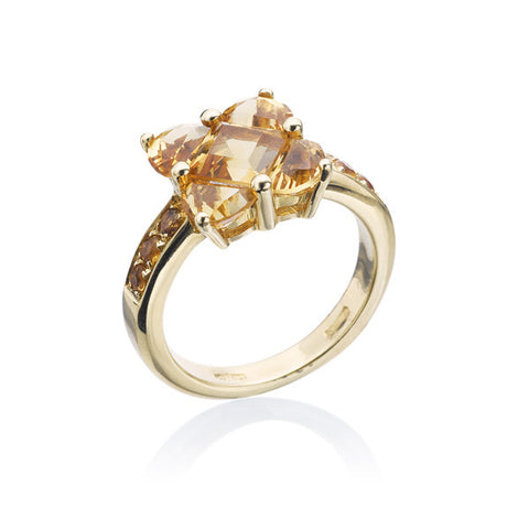 Salavetti Citrine Ring