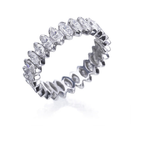 Salvini Marquise Diamond Eternity Band