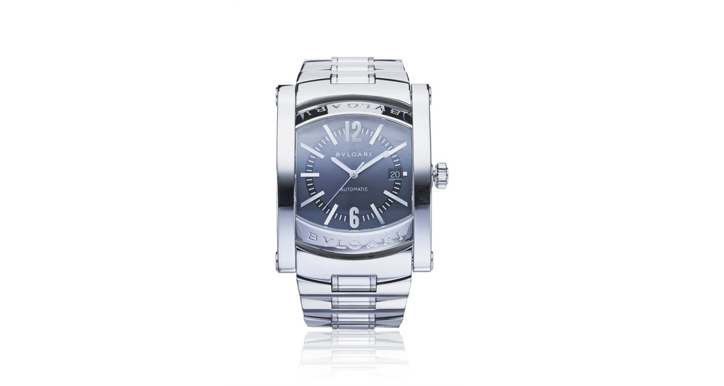 Bvlgari Assioma Automatic Stainless Steel Black Watch