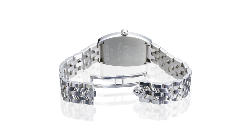 Cintree Curvex Stainless Steel Diamond Bezel Watch