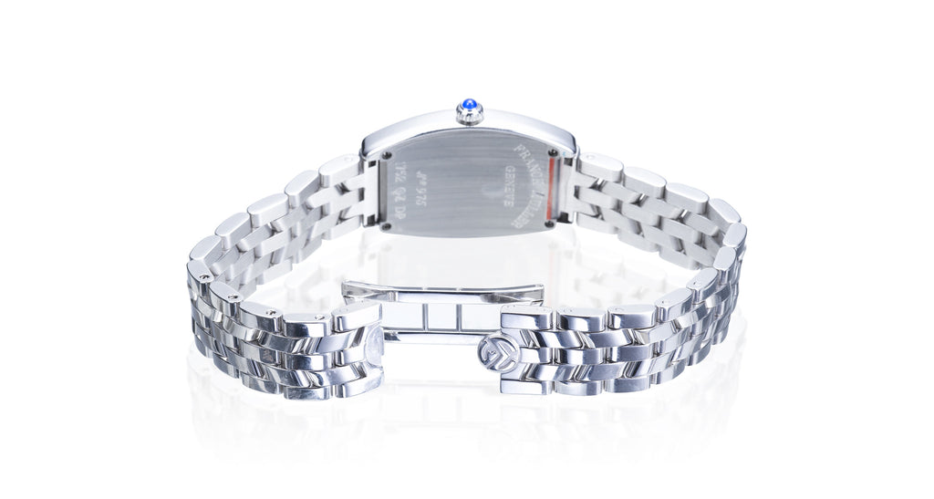 Curvex Stainless Steel Diamond Bezel Watch