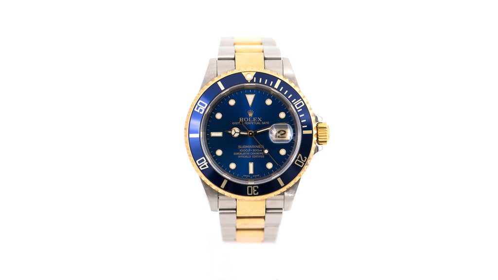 Submariner Two-Tone Oyster Perpetual Date, Blue Dial Watch