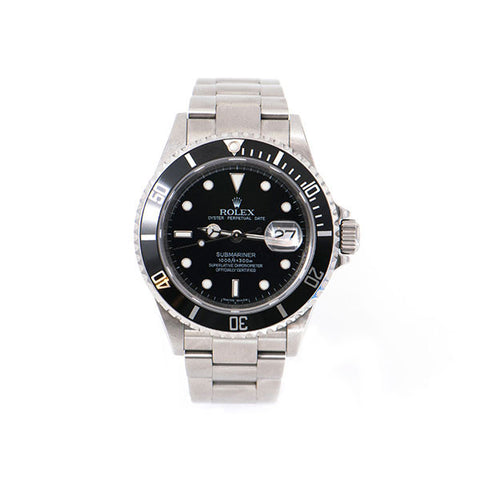 Submariner Oyster Perpetual Date Stainless Steel, Black Dial, Ceramic Bezel Watch