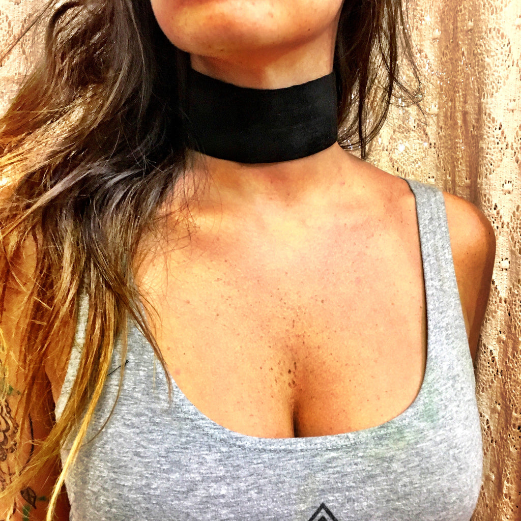 Vegan Suede Choker - Wildflower