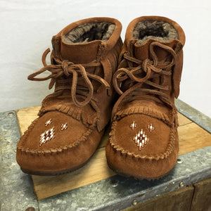 Lined Harvester Mukluk Moccasin - Wildflower