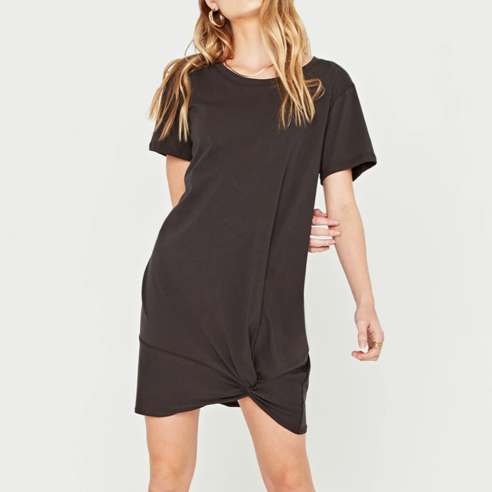 Meant To Be Twist Hem Dress