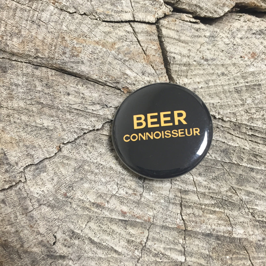 Beer Connoisseur Pin - Wildflower