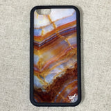 Natural Marble iPhone Case - Wildflower