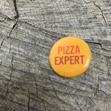 Pizza Expert Pin - Wildflower